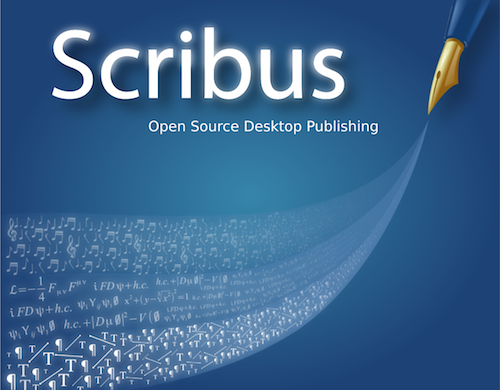 scribus splash screen